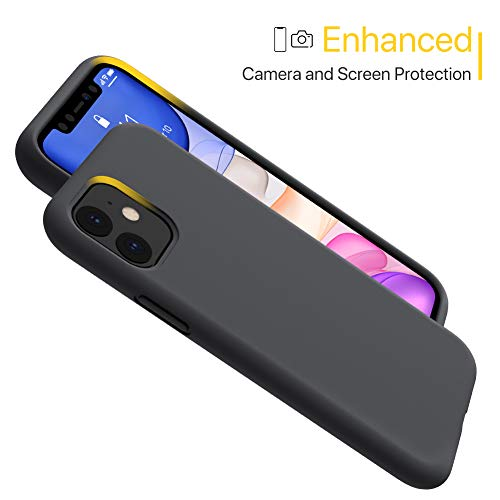 Miracase Liquid Silicone Case Compatible with iPhone 11 6.1 inch(2019), Gel Rubber Full Body Protection Cover Case Drop…
