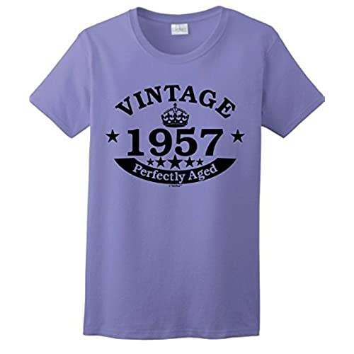 60th birthday cards amazon 60th birthday candles cards 60th birthday gift vintage 1957 perfect aged crown ladies t shirt xl violet bookmarktalkfo Gallery