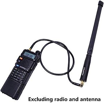 ABBREE AR-152 AR-148 antena táctica SMA-hembra cable de ...