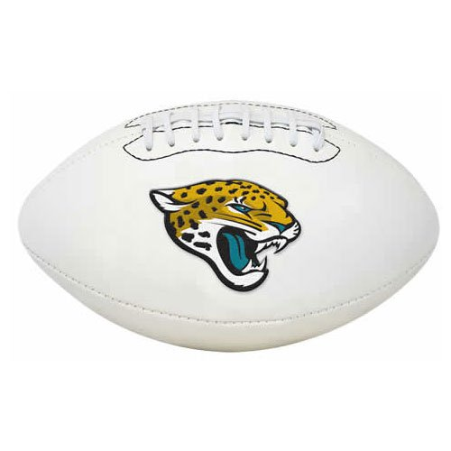 NFL Signature Series Full Regulation-Size Football (Helmet Jaguars Football Jacksonville)