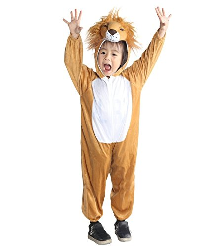 Fantasy World Lion Halloween Costume f. Toddlers/Boys/Girls, Size: 3t, An73