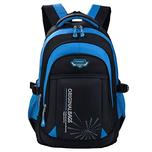 backpack for boys, Fanspack 2019 new large school bag for boys school bookbag kids backpack (Best Backpacks For Middle School 2019)