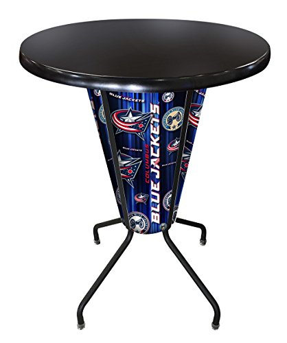 Lighted Outdoor Stool Table - 7