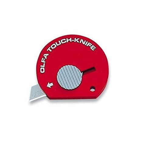 4 PACK: Olfa Touch Knife TK-4R Color Red Model 1083066