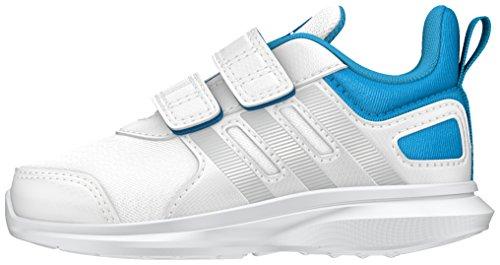 adidas hyperfast 2.0 cf i - Scarpe da ginnastica da Bambini, taglia 20, colore Bianco