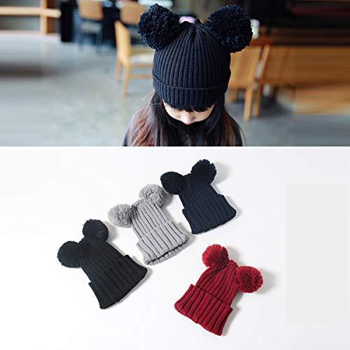 PGXT Infant Toddler Girls Boys Soft Warm Knit Hat Kids Winter Hat Beanie Cap