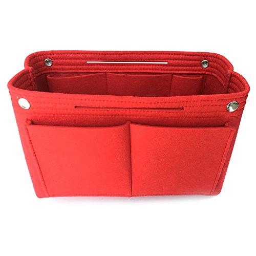 WorldProof Felt Insert Bag Purse Organizer Cosmetic Travel Portable Make Up Bags