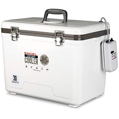 Engel 30 Qt Live Bait Cooler & Minnow Bucket - ENGLBC30-N