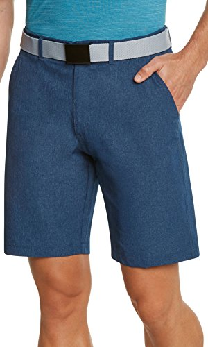Three Sixty Six Men's Golf Short Twilight Blue, 34