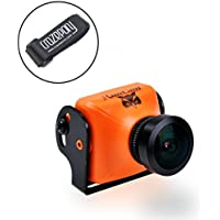 Crazepony RunCam OWL PLUS 700TVL FPV Camera OSD Wide Angle 150 Degree DC 5-22V IR Blocked Orange