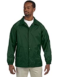 Harriton Men's Nylon Staff Jacket