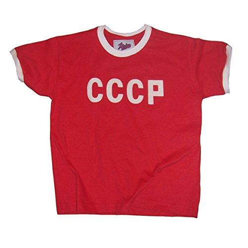 Retro 1970 Jersey (Retro League Soviet Union (CCCP) 1970 Kids Shirt (10))