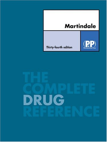 Martindale: The Complete Drug Reference, 34th Edition