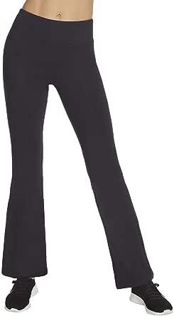 Skechers Womens W03PT51 Go Walk Go Flex High Waisted 3 Pocket Flare Cut Walk Pant Casual Pants