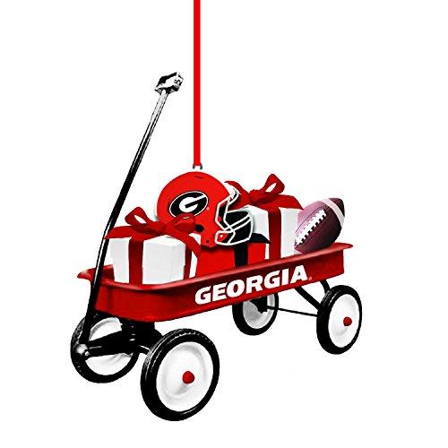 - Team Sports America Georgia Team Wagon Ornament