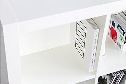 En la parte trasera para IKEA estanterías Expedit (1 par, de ...