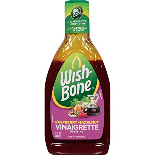 - Wish-Bone Salad Dressing, Raspberry Hazelnut Vinaigrette, 15 Ounce