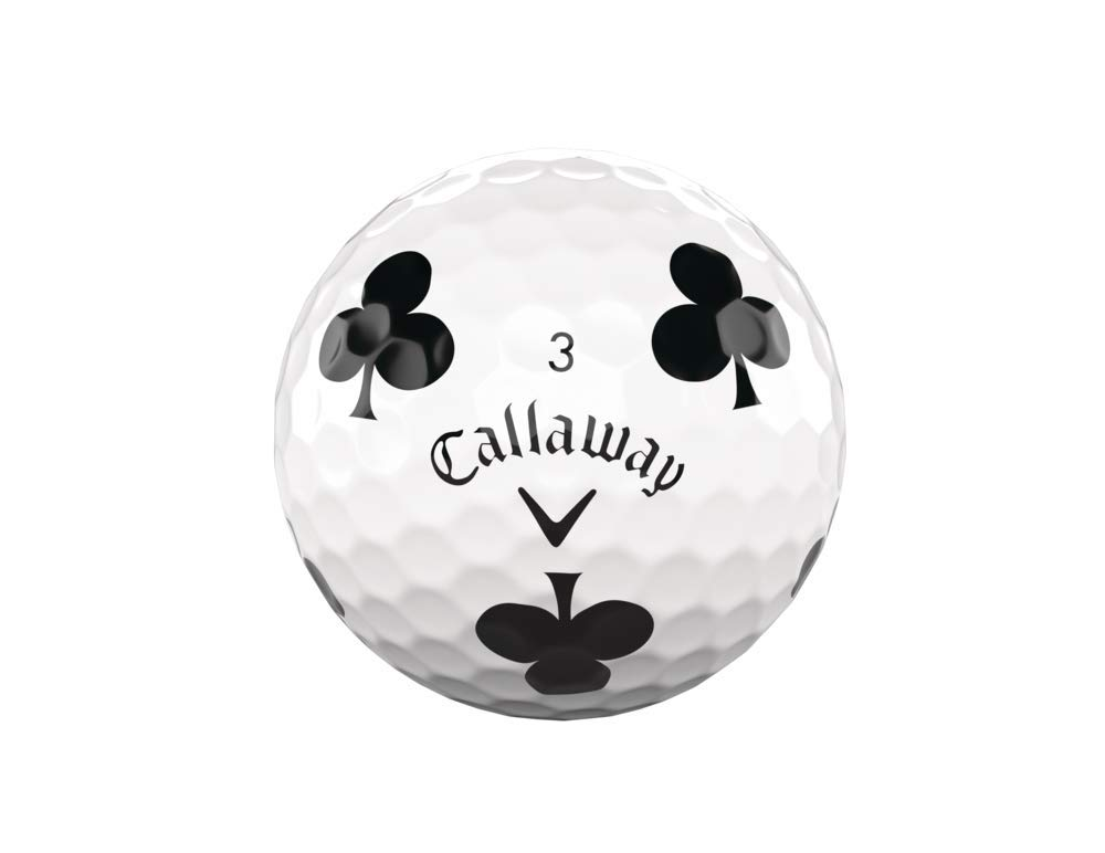 Callaway Golf Chrome Soft Truvis Golf Balls (One Dozen), Suits (Limited Edition) by Callaway (Image #6)