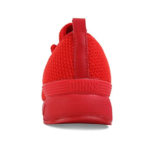 Sneakers 3PLE Men Red Djinns Run Shoes fROHwB7
