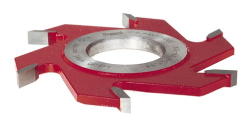 Groove Shaper Cutter - Freud UP171 1/4-Inch 6-Wing Groove Cutter For Shaper, 1-1/4 Bore
