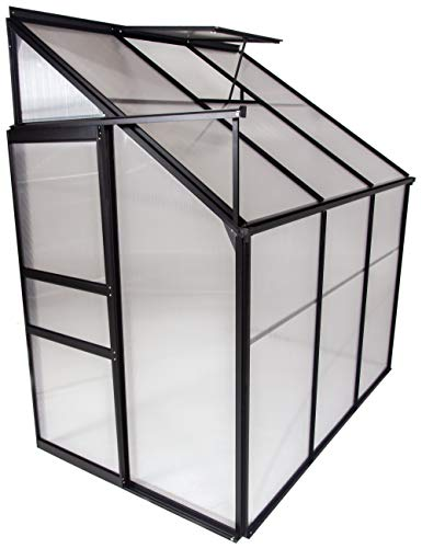 OGrow OGAL-46A, Gardening Aluminum Greenhouse, Clear ()