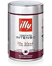 Illy Ground Espresso Intenso Coffee - Bold Roast - 250g