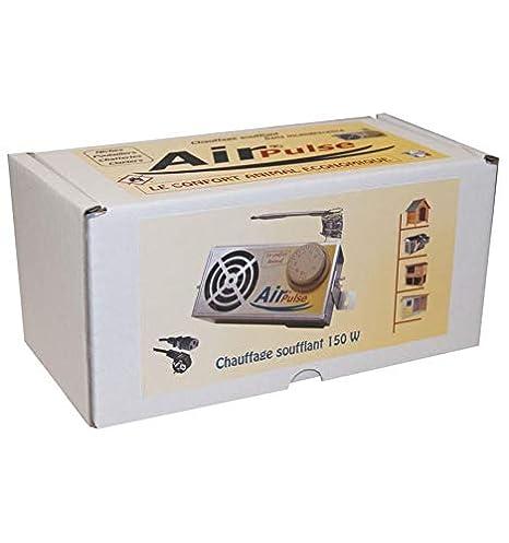FP Ambiente caseta Perro gallinero Clapier a Air pulsé-150 W: Amazon.es: Productos para mascotas