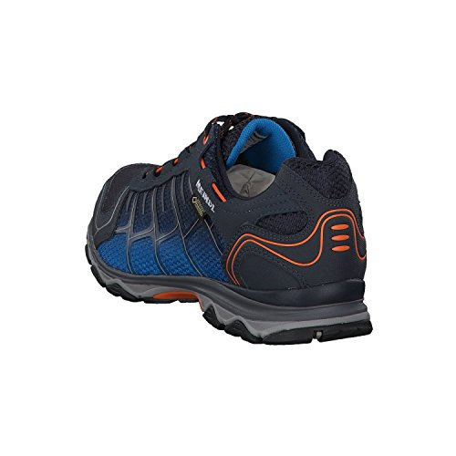 Meindl Shoes X-so 30 Gtx Surround Men - Nero / Rosso Notte Blu / Arancione