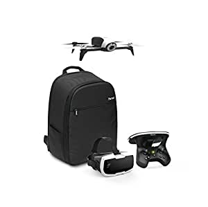 Parrot Bebop 2 Adventurer - Complete bundle with up to 25 minutes of flight time, Follow me, and backpack