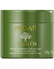 Máscara Capilar Argan Oil Tratamento Intensivo Hidratante, Inoar