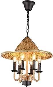 La decoración del hogar Iluminación Vintage hierro ...