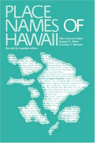 Place Names of Hawaii by University of Hawaii Press