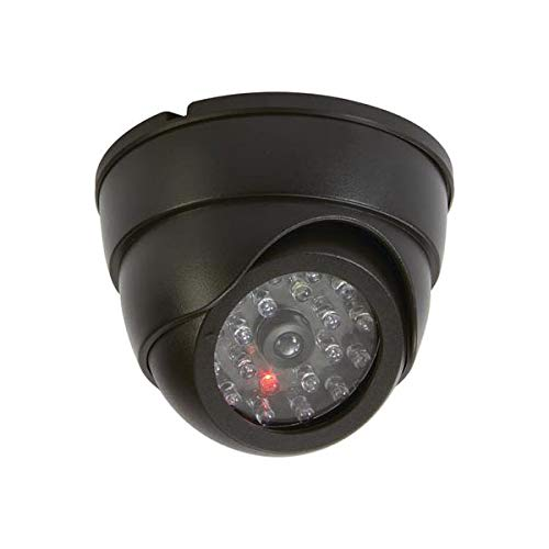 Dome Camera Indoor Simulated in Plastic with 3 3/4 W x 2 3/4 D x 3 3/4 L Inch