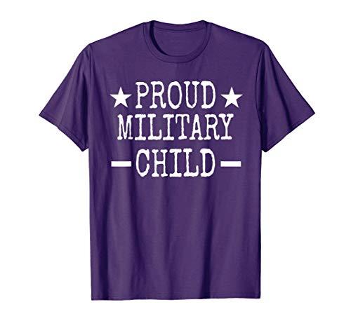 Purple Proud Military Child -