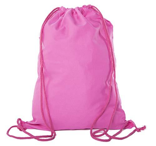 Cotton Drawstring Bags, Promotional Pull String Backpacks, Bulk Cinch Backpacks ()