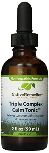 Native Remedies FibroFree Complex, Fatigue Fighter and Triple Complex Calm Tonic 2 fl oz ()