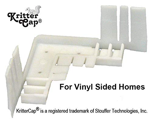 Builder Best Nest - Kritter-Cap Corner Inserts for Pest Control
