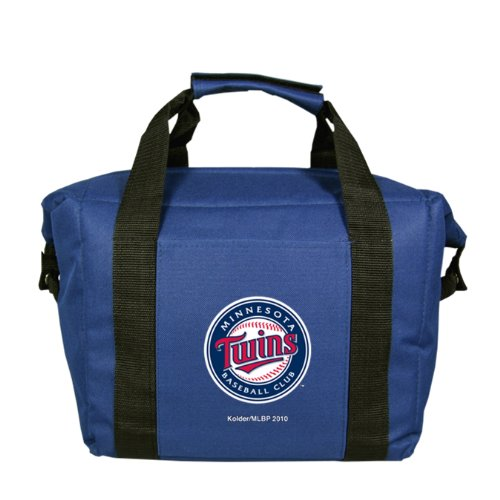 MLB Minnesota Twins Soft Sided 12-Pack Cooler Bag