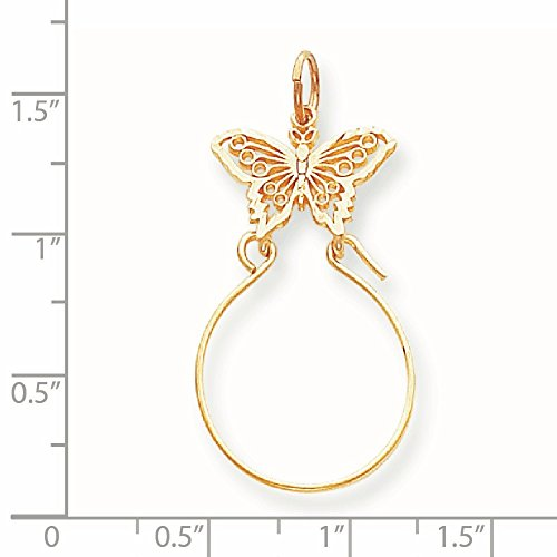 Or 14carats papillon support Charme