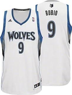 cb894a67286 NBA adidas Ricky Rubio Minnesota Timberwolves Revolution 30 Swingman Jersey  - White