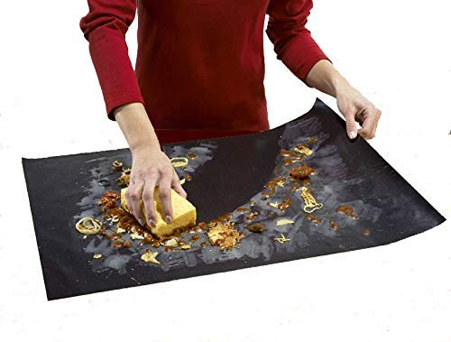 Cooks Innovations Non-Stick Oven Liner; Professional Grade Never Clean The Bottom Of Your Oven Again