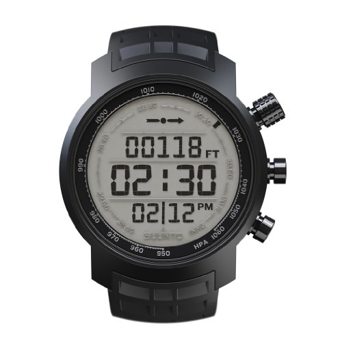 Wristwatch (Watch) Suunto Elementum Terra All Black Rubber Positive - E
