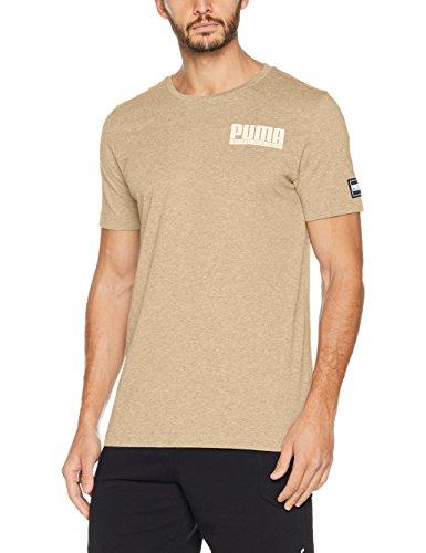Homme Heather Pebble Athletics Puma Style Shirt Tee qOwYIP