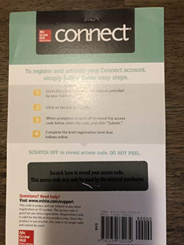 Connect 1-Semester Online Access for Management