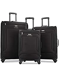 Pop Max Softside Luggage with Spinner Wheels, Black