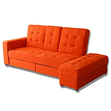 Amazondoris ソファーベッド 収納 3人掛け スツール テーブル 引き出し