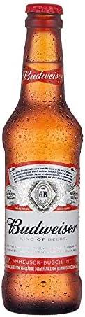 Cerveja Budweiser, Long Neck, 300ml 1un