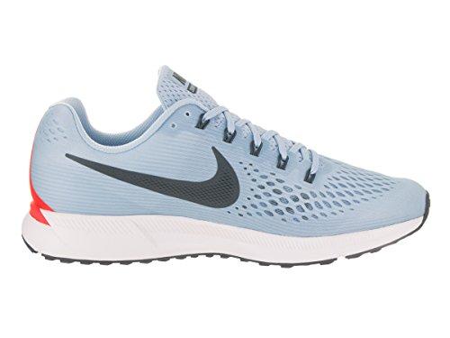 Nike Herren Air Zoom Pegasus 34 Laufschuhe Blau (Bleuglacé/cramoisibrillant/blanc/renardbleu)