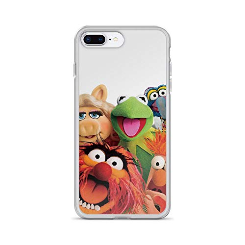 Horseshoe's Compatible with iPhone 7 Plus/8 Plus Case The Muppet Movie Kermit Frog Miss Piggy Walter Pure Clear Phone Cases Cover