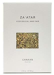 Canaan Zaatar (Zahtar, Zatar) Signature Spice Blend of Palestine, Fair Trade Certified, 65 gram (Pack of 2)